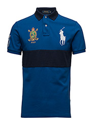 Custom-Fit Big Pony Polo Shirt - SAPPHIRE STAR/C