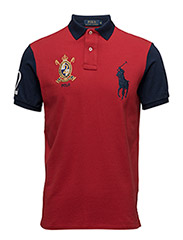 Custom-Fit Big Pony Polo Shirt - RL 2000 RED/NEW