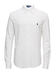 Custom Fit Featherweight Mesh Shirt - WHITE