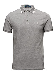 Custom-Fit Cotton Mesh Polo - SPRING HEATHER