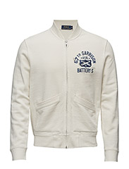 Cotton-Blend Baseball Jacket - NEVIS