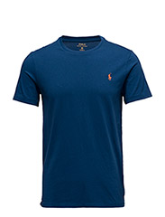 Custom Slim Fit Cotton T-Shirt - EMBASSY BLUE