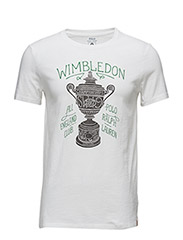 Wimbledon Custom Fit T-Shirt - DECKWASH WHITE