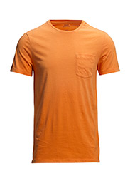 SS CN CMFIT T-SHIRT MDL 1 - FLARE ORANGE