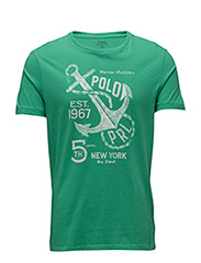 Custom Fit Cotton T-Shirt - ACADEMY GREEN