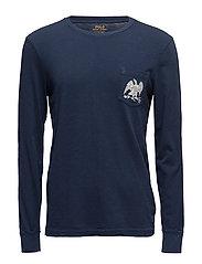 Custom Slim Fit Cotton T-Shirt - CRUISE NAVY