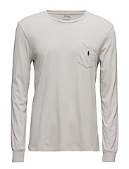 Custom Slim Fit Cotton T-Shirt - SILVER SMOKE