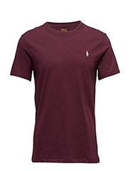 Custom Slim Fit Cotton T-Shirt - CLASSIC BURGUNDY
