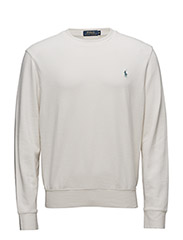 Cotton-Blend Fleece Sweatshirt - ANTIQUE CREAM