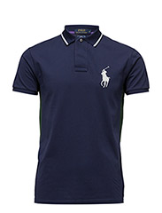 Wimbledon Ball Boy Polo - FRENCH NAVY MUL