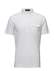 Hampton Cotton Lisle Shirt - WHITE