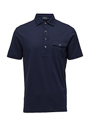 Hampton Cotton Lisle Shirt - FRENCH NAVY