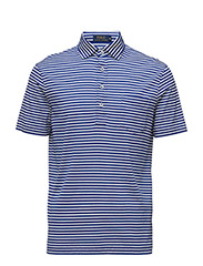 Hampton Striped Cotton Shirt - GRAPHIC ROYAL/WHITE