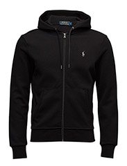 Double-Knit Hoodie - POLO BLACK