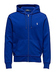 Double-Knit Full-Zip Hoodie - HERITAGE ROYAL