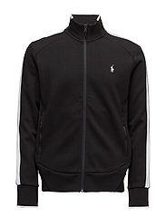 Cotton-Blend Track Jacket - POLO BLACK