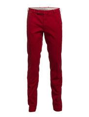 SLIM FIT HUDSON PANT 34 - CAMDEN RED