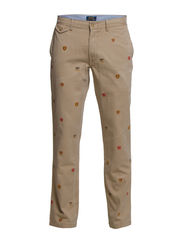 STRAIGHT FIT UNIVERSITY PNT 34 - BOATING KHAKI (
