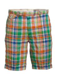 CLASSIC FIT GREENWHICH SHORT - PLAID MULTI