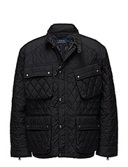 Quilted Utility Jacket - POLO BLACK
