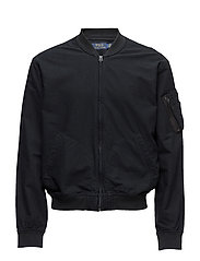Cotton Oxford Bomber - POLO BLACK