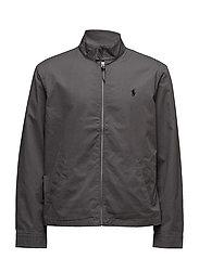 Cotton Twill Jacket - CHARCOAL GREY