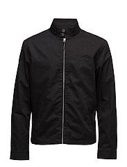 Cotton Twill Jacket - POLO BLACK