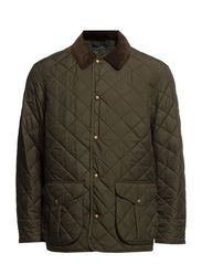 DANBURY QUILTED CAR COAT - LITCHFIELD OLIV