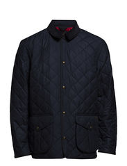DANBURY QUILTED CAR COAT - AVIATOR NAVY