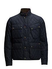 SOUTHBURY QUILTED BIKE JACKET - SOUTHPORT NAVY