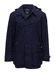 Wimbledon Water-Resistant Coat - FRENCH NAVY