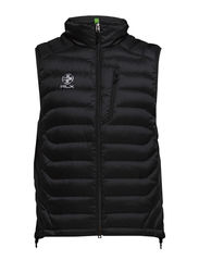 AC AERIAL DOWN VEST - POLO BLACK