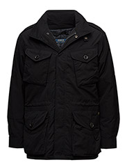 CANADIAN CBT-DOWN FILL-COAT - POLO BLACK