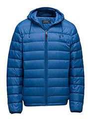 Packable Hooded Down Jacket - SAPPHIRE STAR