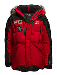 EXPEDITION TRAIL DOWN PARKA - PATRIOT RED