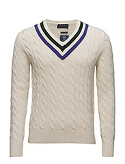 Wimbledon Umpire Sweater - CRICKET CREAM