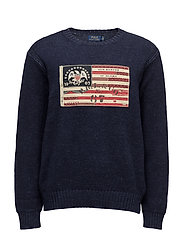 The Iconic Flag Sweater - SUMMER NAVY