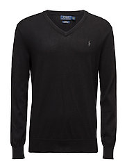 Slim Fit Pima Cotton V-Neck Sweater