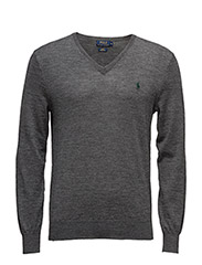 LS SLIM FIT VN - GREY HEATHER
