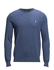 LS SF CN-LONG SLEEVE-SWEATER - FADED ROYAL HEA