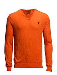 LS SF VN-LONG SLEEVE-SWEATER - ORLANDO ORANGE