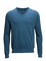 LS VN PP-LONG SLEEVE-SWEATER - NAVY HEATHER