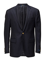 Polo Silk Blend Suit Jacket - CLASSIC NAVY