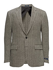 Polo Sport Coat - BLACK CREAM