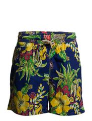TRAVELER SHORT - 12 HIBISCUS FLO
