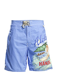 PALM ISLAND SURFER TRUNK - 50 SKY BLUE SUR