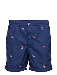 Prepster Swim Trunk - HOLIDAY NAVY/EM