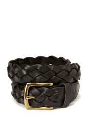 BRAID BELT 4 - BLACK