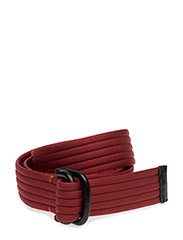 Double Ring Casual Belt - RED