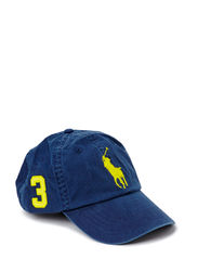 CLS SPT CAP W/LEATHER BCKSTRAP - NAVY/LEMON